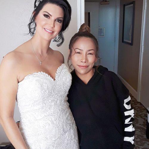Beautyful bridal & Nina Hairstylist and makeup artist.