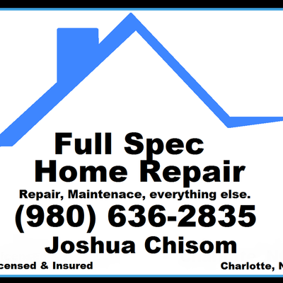 Avatar for Full-Spec Home Repair Waxhaw, NC Thumbtack