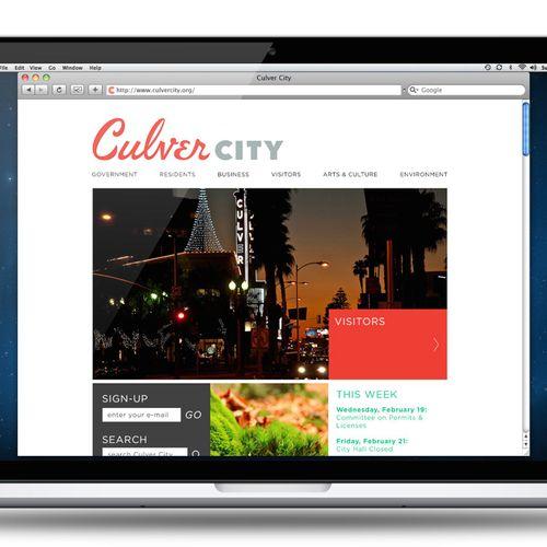 Culver City Site Design for Strausberg Advertising