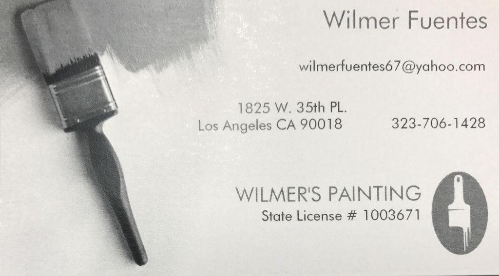 Wilmer's painting  Interior / Exterior