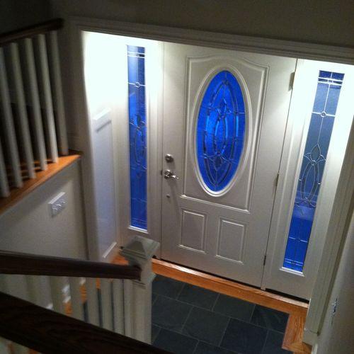 New Entry way and door