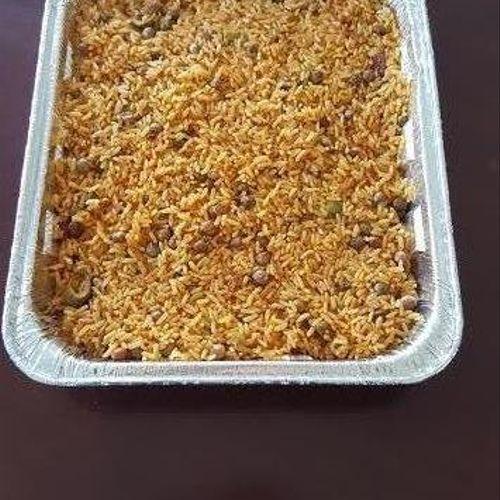 Arroz Con Gandules (Spanish Rice)