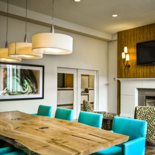 Dining Room designed in an Organic Concept