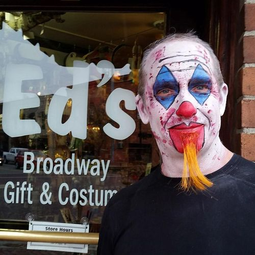 Face Painters for Ed's Broadway Gift & Costume.