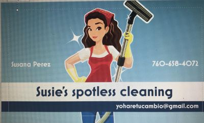 Avatar for Susie's spotless cleaning Escondido, CA Thumbtack