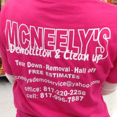 Avatar for McNeely's Demolition and Clean-up Service
