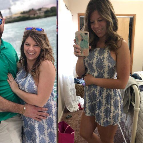 Meet Amanda! Amanda lost 20 lbs and 10% body fat in just 16 weeks!