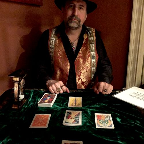 The is no substituion to having decades of experience reading Tarot professionally.