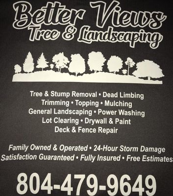 Avatar for Better Views Tree and Landscaping Culpeper, VA Thumbtack