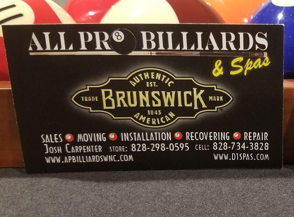 All Pro Billiards & Spas
