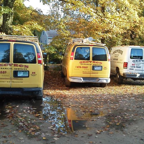 Our vans are standing by ready to assist you.