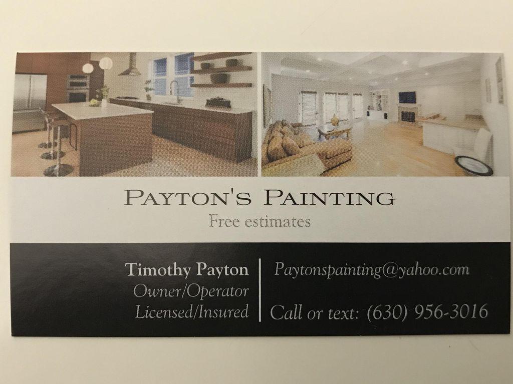 Payton's Painting