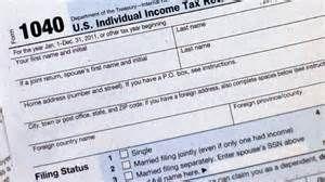 1040 Individual Income Tax Return