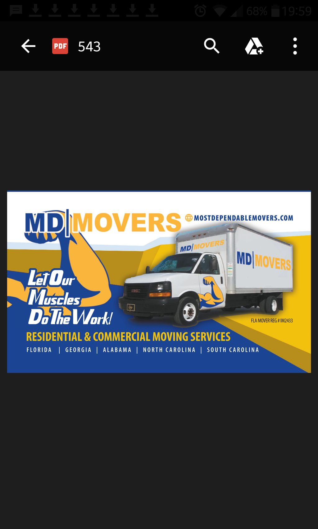 Most Dependable Movers