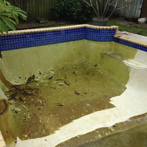 Pool Drain & Pressure Wash