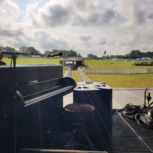 Tuning for Jack White at the Pilgrimage Festival