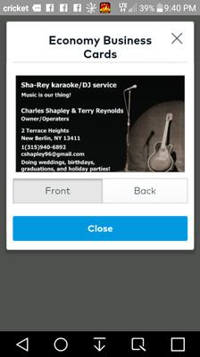 Avatar for Sha-Rey Karaoke DJ service