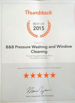 Avatar for B&B Pressure Washing and Window Cleaning
