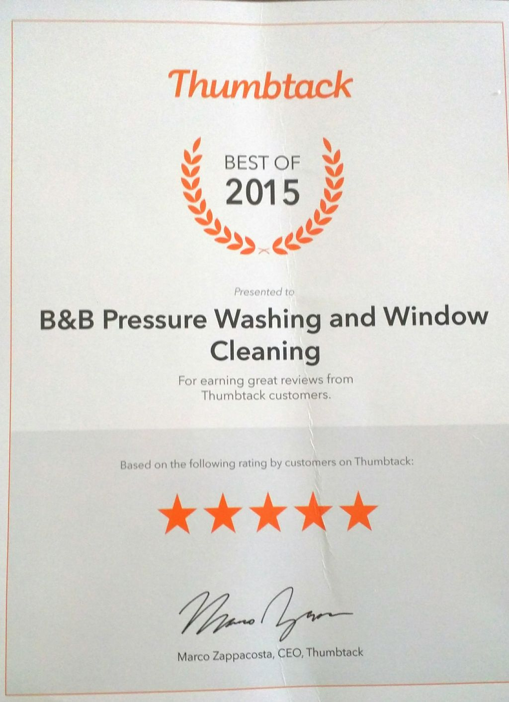 B&B Pressure Washing and Window Cleaning