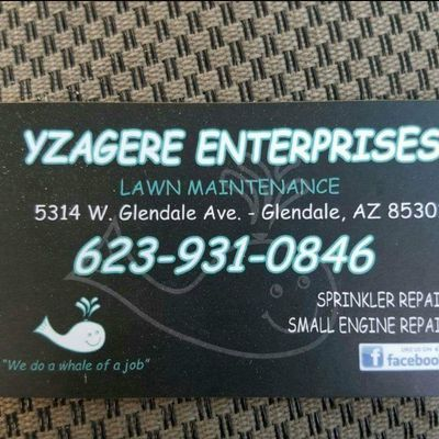 Avatar for Yzagere Enterprises Glendale, AZ Thumbtack