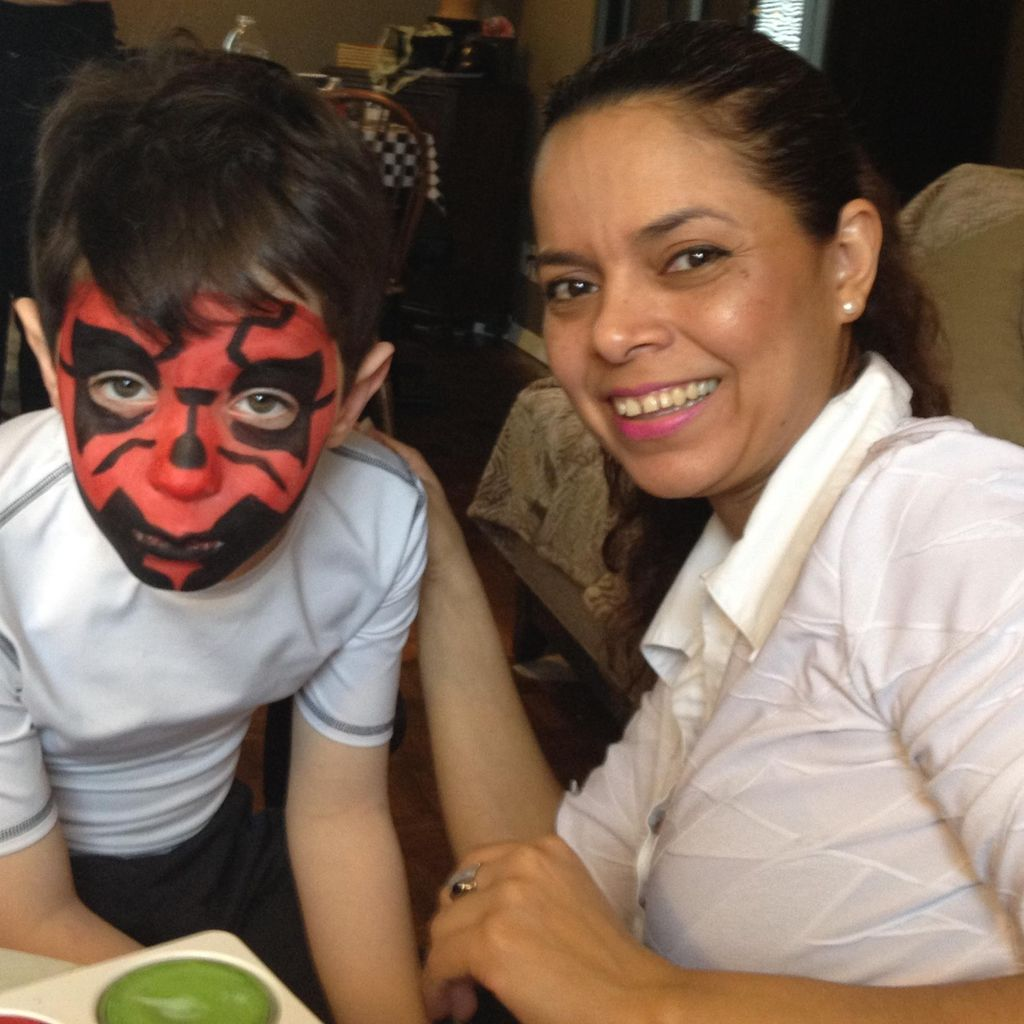 Face Painting by Angela Carranza