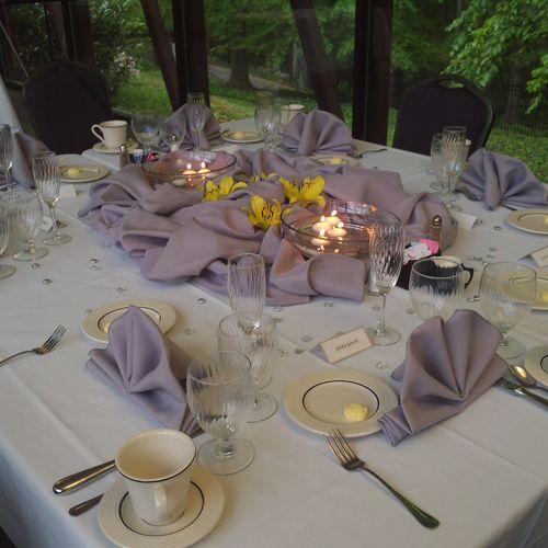 The Garrett's Anniversary Dinner Greenville, SC