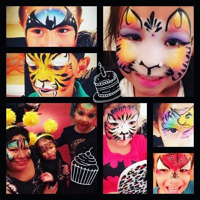 Face painting by Dikla