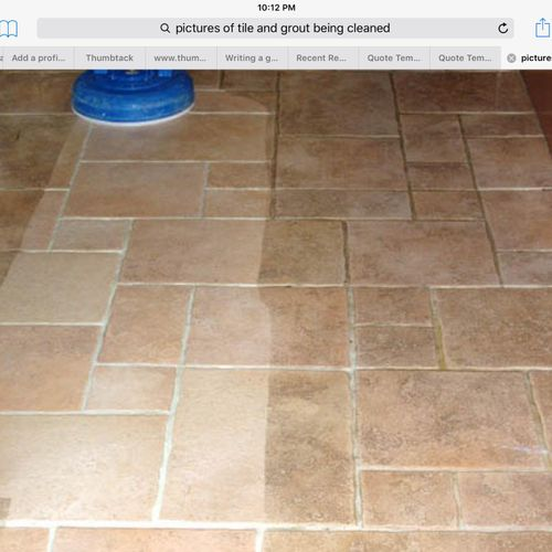 Best tile cleaning at the best price in town, Restore your tile today for a clean look