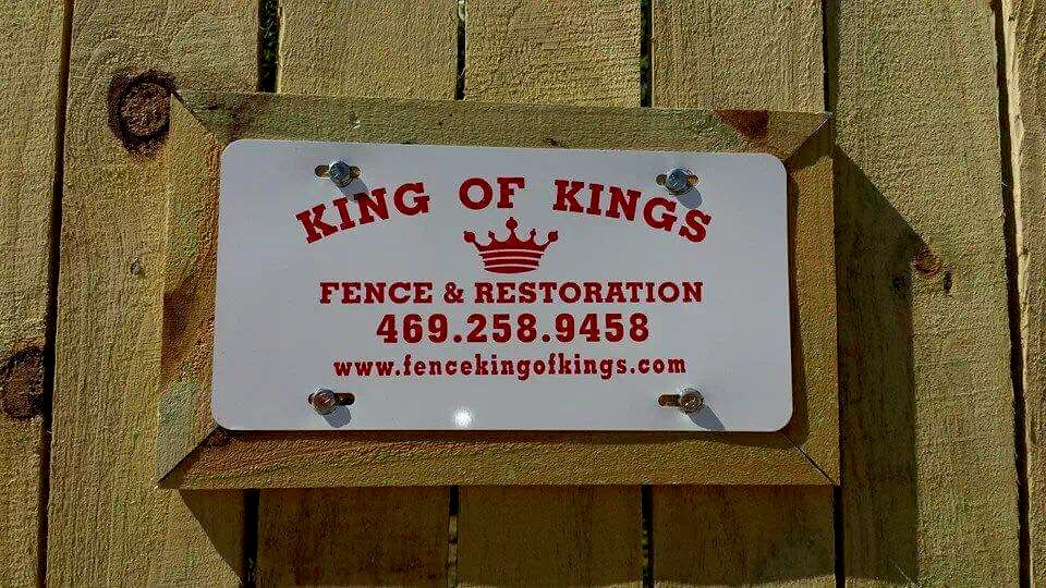 King of kings Fence