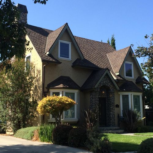 This is a two story house in Willow Glen