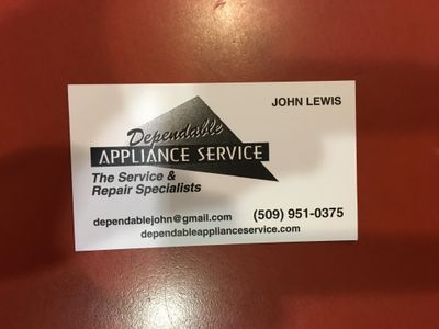 Avatar for Dependable Appliance Service