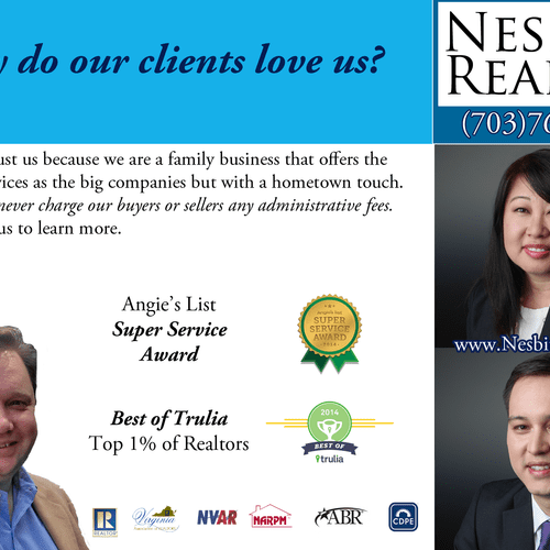 Why do our clients love us?