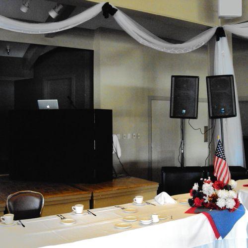 Military Retirement Ceremony