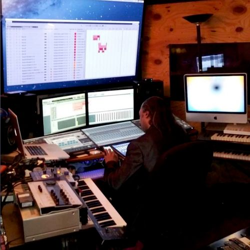 Vince McCartney Hard at work in the Mix!!