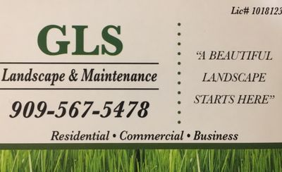Avatar for GLS Landscape and Maintenance