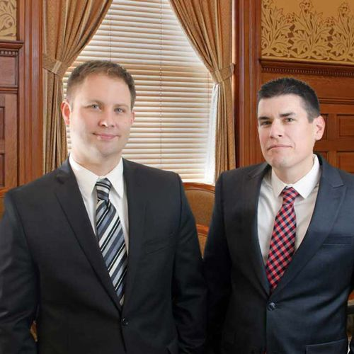 Look at these handsome devils revolutionizing the law firm.