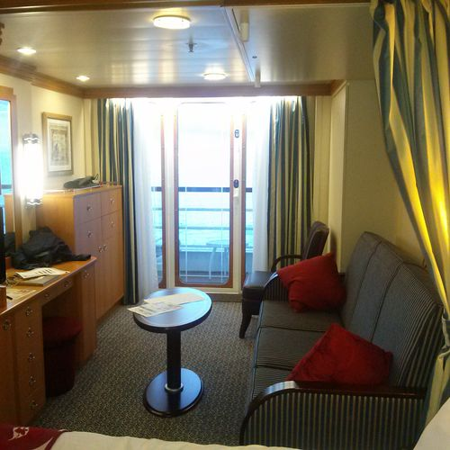 My Cabin on Disney Cruise