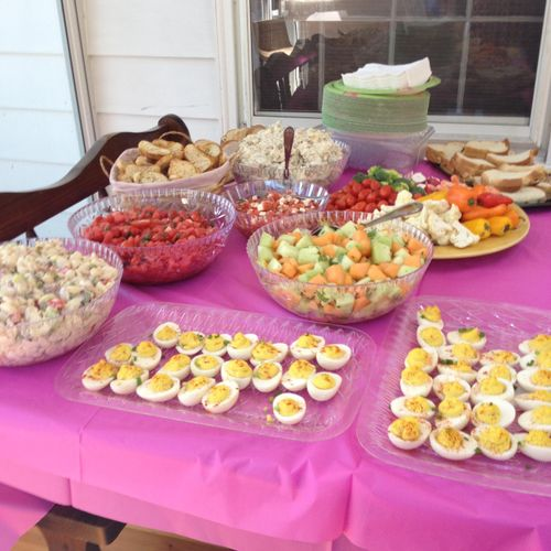 A small bridal shower