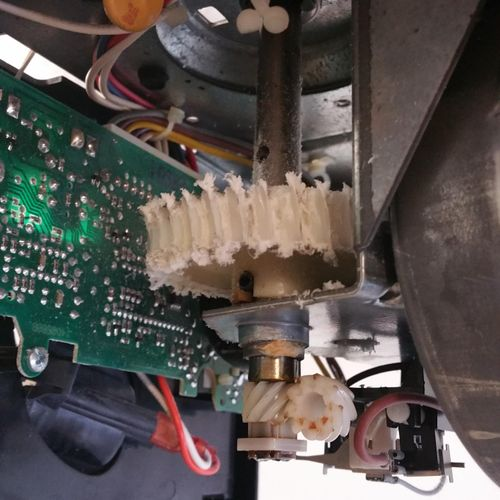 Lift Master stripped gear assembly