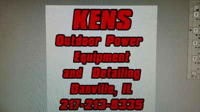 Avatar for Kens Outdoor Power Equipment & Detailing Danville, IL Thumbtack