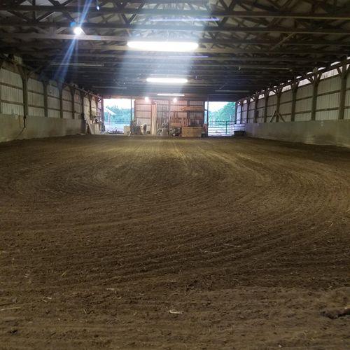 Indoor Arena to work on skills year round