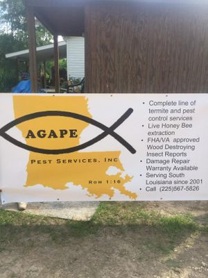 Avatar for Agape Pest Services, Inc Holden, LA Thumbtack
