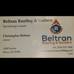 Avatar for Beltran roofing and gutters