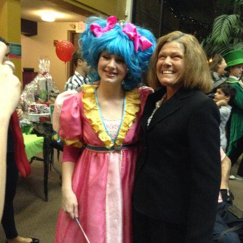 """Sophie, as Glenda in The Wizard Of Oz"""""""