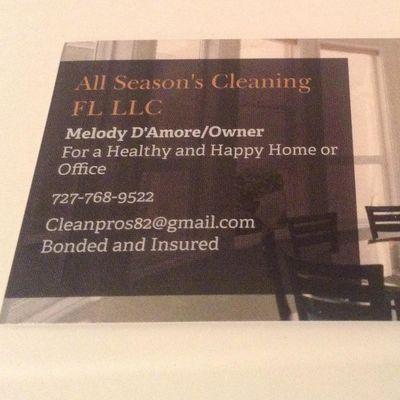 Avatar for All Season's Cleaning FL LLC Saint Petersburg, FL Thumbtack