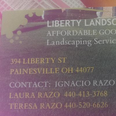 Avatar for Liberty Landscaping Painesville, OH Thumbtack