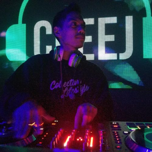 Spinning at Lure Nightclub in Hollywood