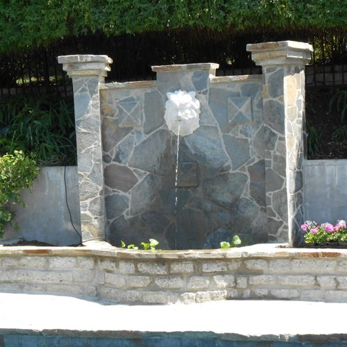 One of the huge number of fountains we have done over the past 30 yrs.!