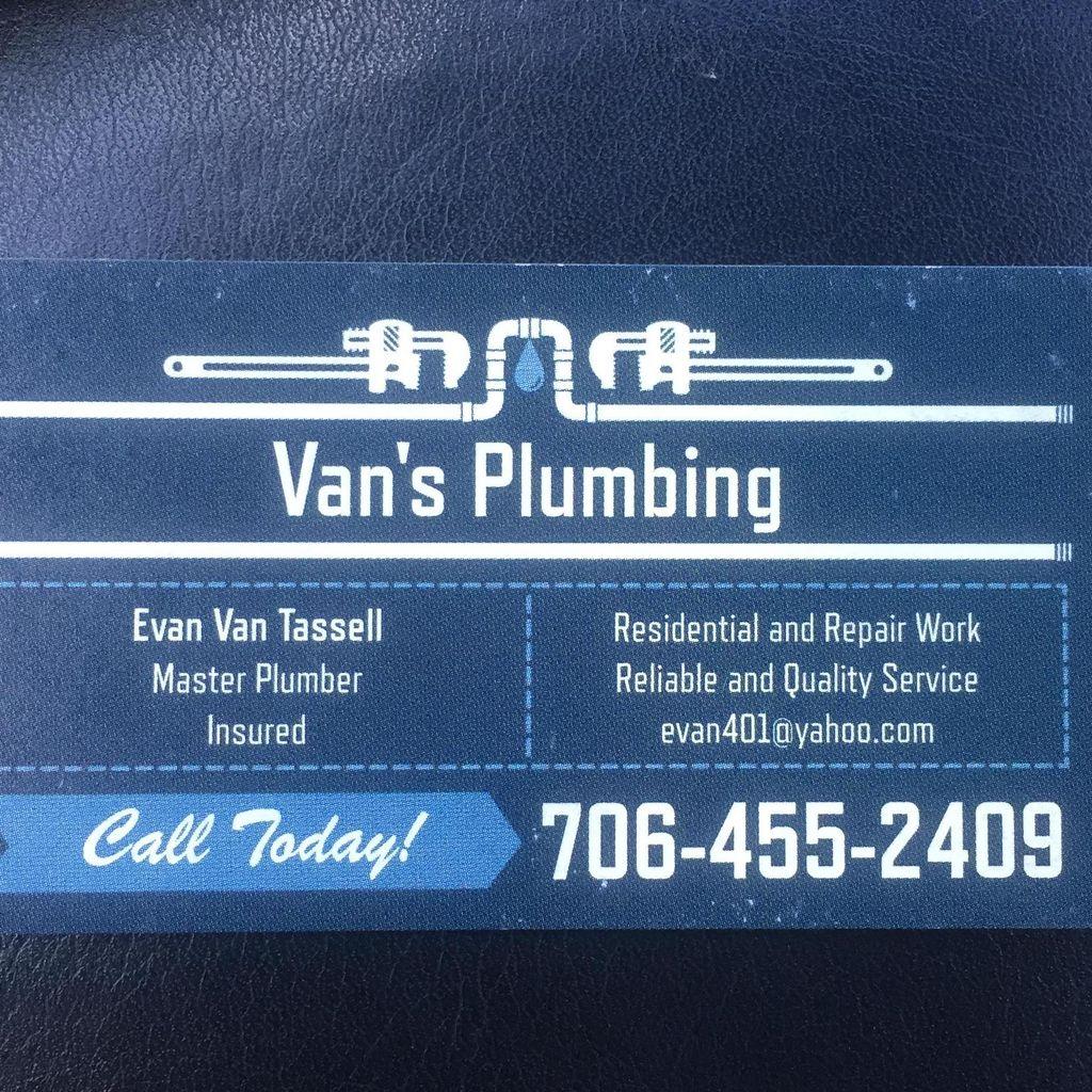 Van's Plumbing