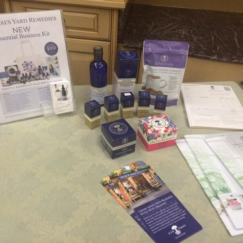 Neal's Yard Remedies Organic Essential Oils Used